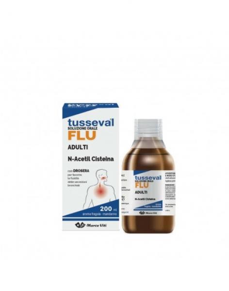 TUSSEVAL FLU SOLUZIONE ORALE 200ml VITI