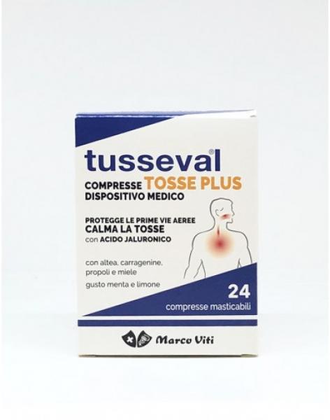 TUSSEVAL TOSSE PLUS 24 COMPRESSE