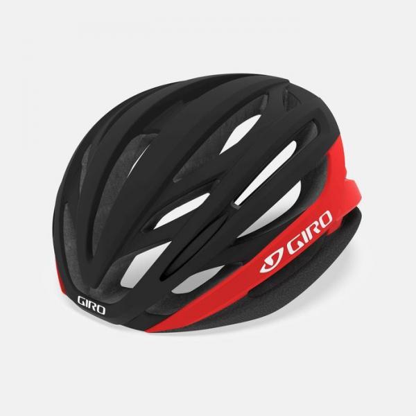 Casco Giro Syntax Mips Mat Black Bright Red