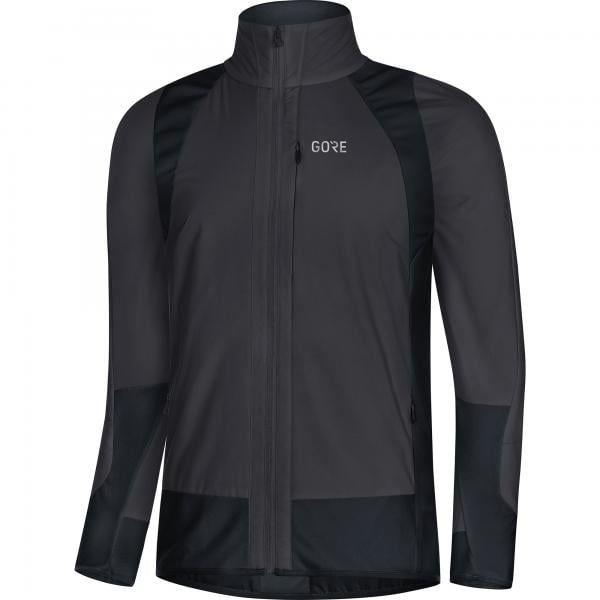 Gore® c5 partial gore® windstopper® giacca insulated nero