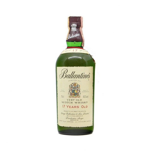 Ballantines 17 years old Scotch Whisky Vintage 75cl