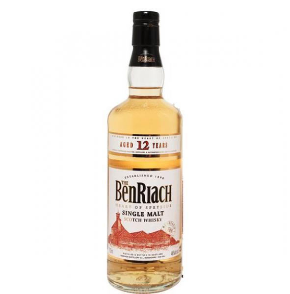 BenRiach 12 Heart of Speyside Single Malt Scotch Whisky