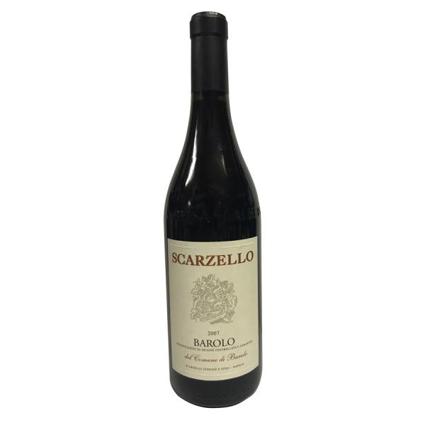 Barolo 2007 Scarzello
