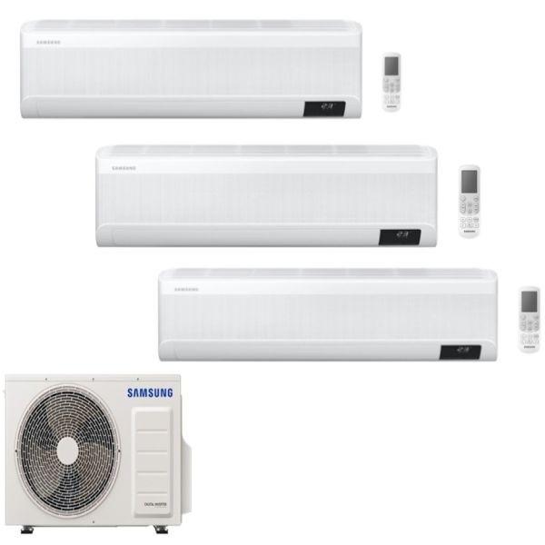 CLIMATIZZATORE SAMSUNG WINDFREE AVANT TRIALSPLIT 7000+9000+12000+AJ052TXJ3KG R-32 WI-FI