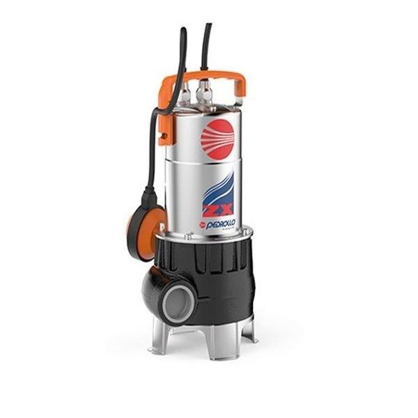 PEDROLLO ELETTROPOMPA SOMMERGIBILE VORTEX ZXM 1A/40 HP 0,85 KW 0,60 230V