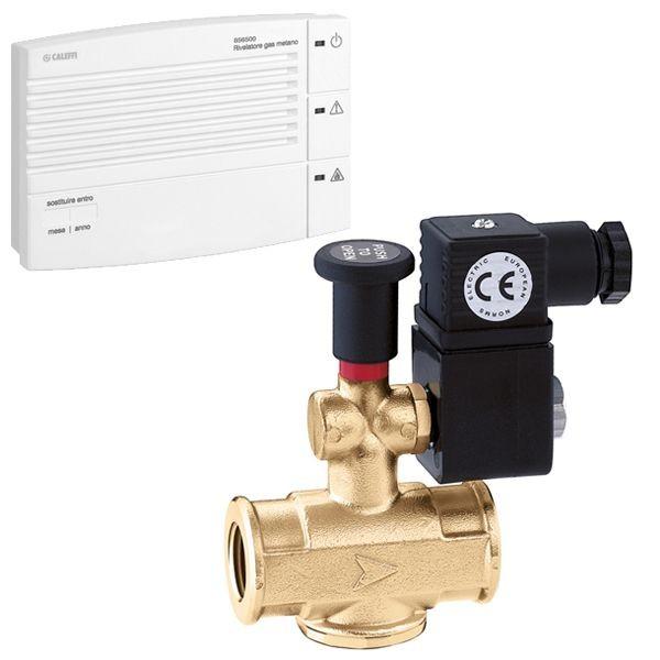Caleffi rilevatore di gas metano attacco 3/4″ 855500