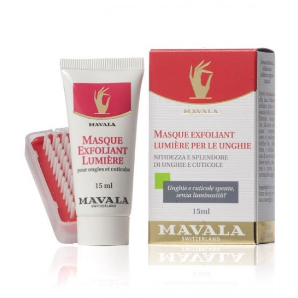 MAVALA MASQUE EXFOLIANT LUMIERE PER UNGHIE 15ML