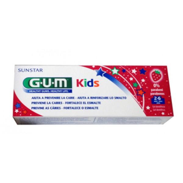 GUM Dentifricio Bambini 2/6 anni 50ml