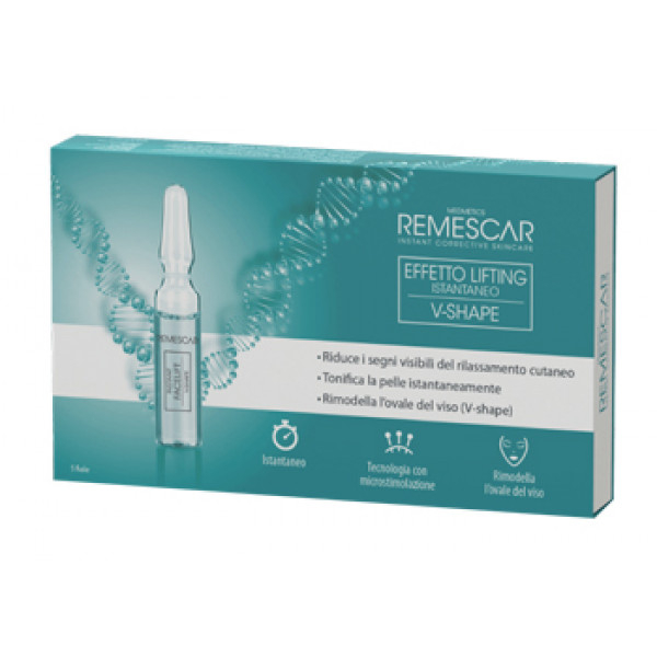 REMESCAR EFFETTO LIFTING ISTANTANEO V-SHAPE 5 FIALE