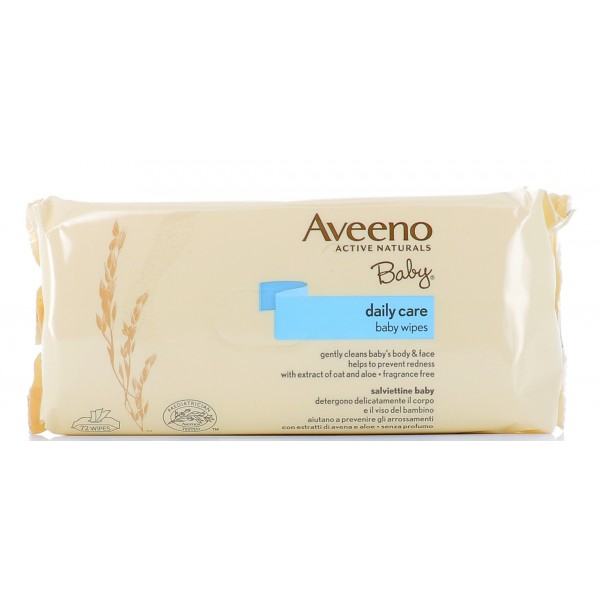 AVEENO BABY Wipes Salviettine Delicate 72pz