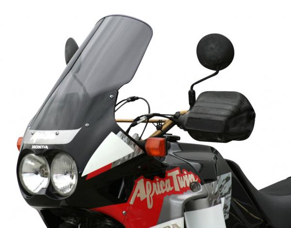 Vetro Cupolino plexyglass MRA modello Touring per Honda XRV 750 Africa Twin 89-92 (365x515mm, +100mm)