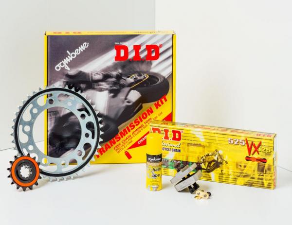 Kit trasmissione DID per Beta RR 450 07-09 (Catena DID 520 VX3 114 maglie – Pignone 13 – Corona 50 – Passo 520) modifica pignone -1