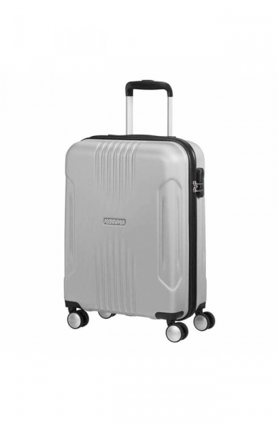 Trolley American Tourister Tracklit spinner 55 Silver- 34G-25001