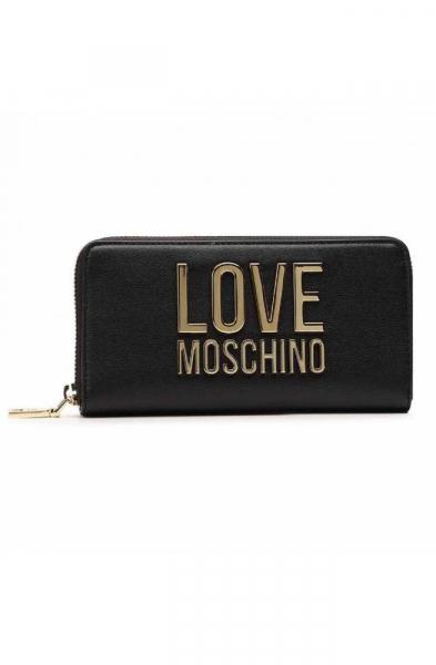 Portafoglio LOVE MOSCHINO BONDED Donna Nero – JC5611PP1CLJ000A