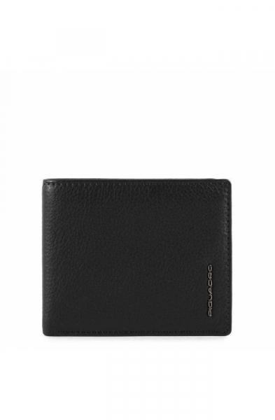 Portafoglio PIQUADRO Modus Special Pelle Nero – PU4518MOSR-N