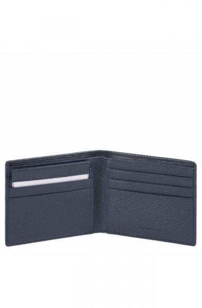 Portafoglio PIQUADRO Modus Uomo Pelle Blu – PU3891MOSR-BLU