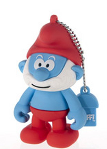 Smurfs Papa Smurf Usb Flash Drive 4gb