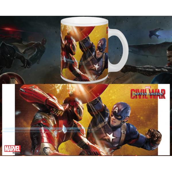 Captain America Cw Fight Mug