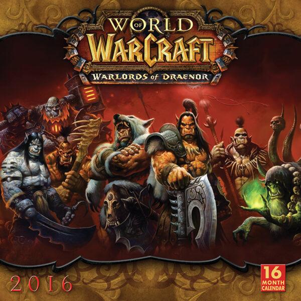 Calendar 2016 World Of Warcraft Wall