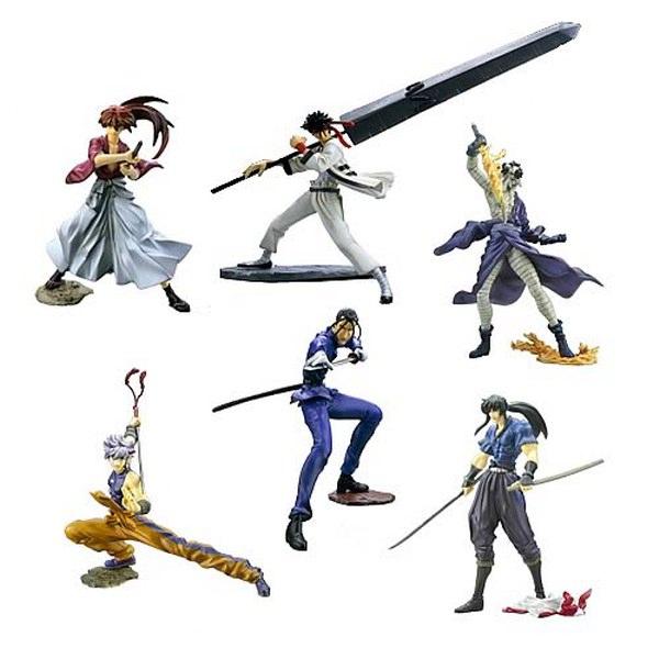 Rurouni Kenshin Best Sel Fig Box (10)