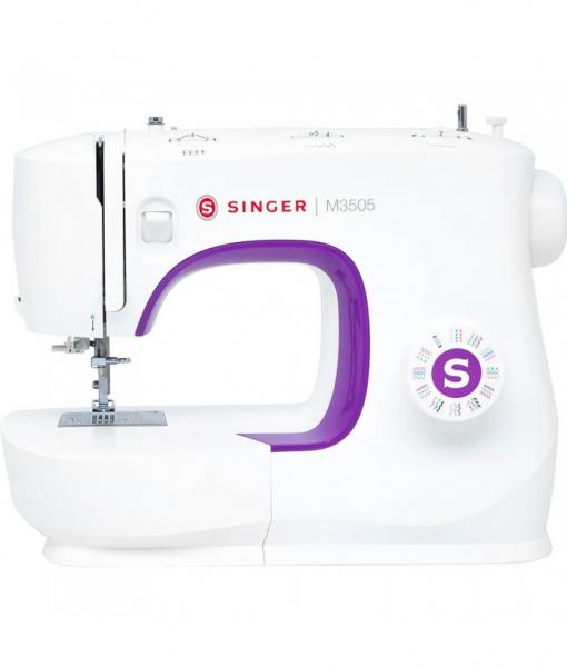 Macchina per cucire Singer M3505 + piedino tagliacuci + kit 15 piedini