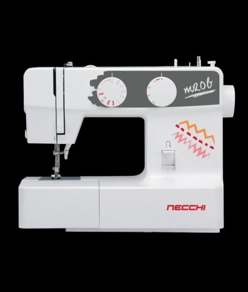 Macchina per cucire Necchi M20B più Piedino Tagliacuci e sbieco regolabile