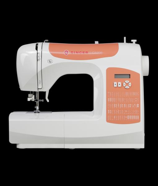 Macchina per cucire elettronica Singer C5205 + Piedino tagliacuci e Kit di 15 piedini