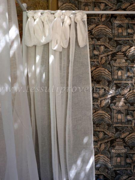 Blanc Mariclo tenda serie Adalgisa cm. 140 x 290 h.
