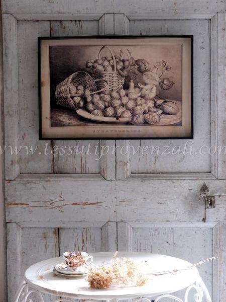 Blanc Mariclo' quadro serie Still Life cm. 60 x 40 h. vintage – variante 4