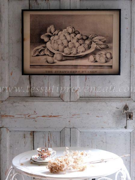 Blanc Mariclo' quadro serie Still Life cm. 60 x 40 h. vintage – variante 2