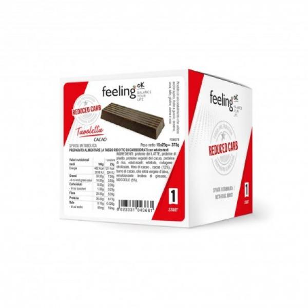 FEELINGOK Tavoletta Cacao 20gr START 1