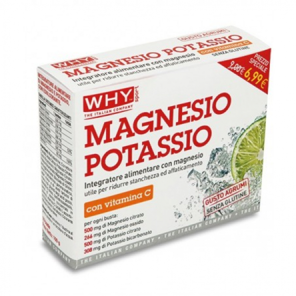 WHY SPORT – Magnesio e Potassio – 10 Buste
