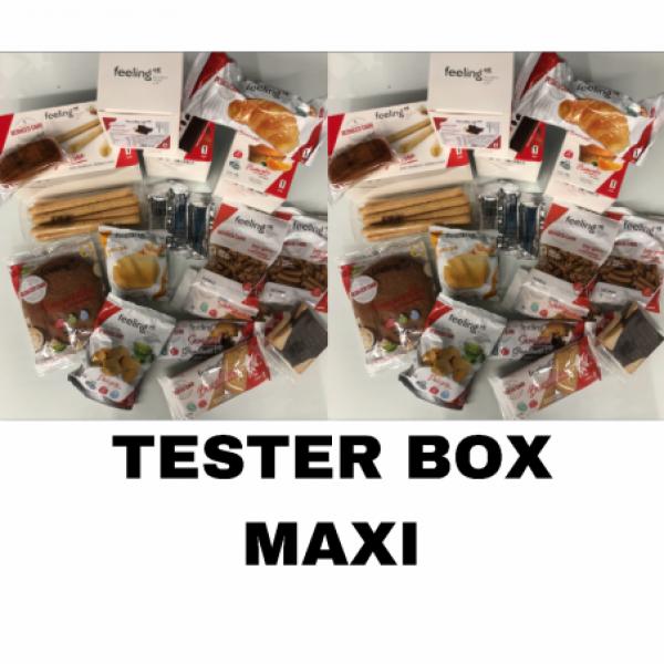 TESTER BOX ALIMENTI LOW CARB FELINGOK (MAXI)