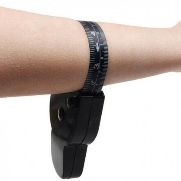 Plicometro e metro per misurazioni corporee e misurazione grasso