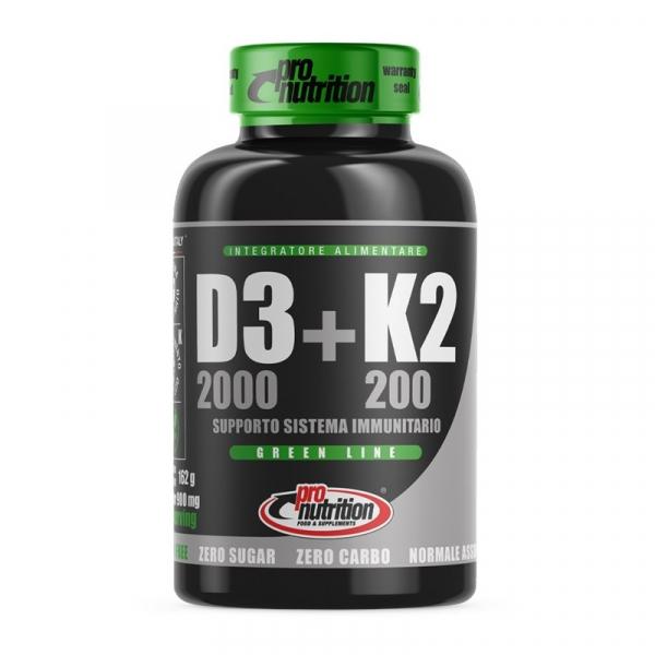 PRO NUTRITION Vitamina D3+k2 120cpr