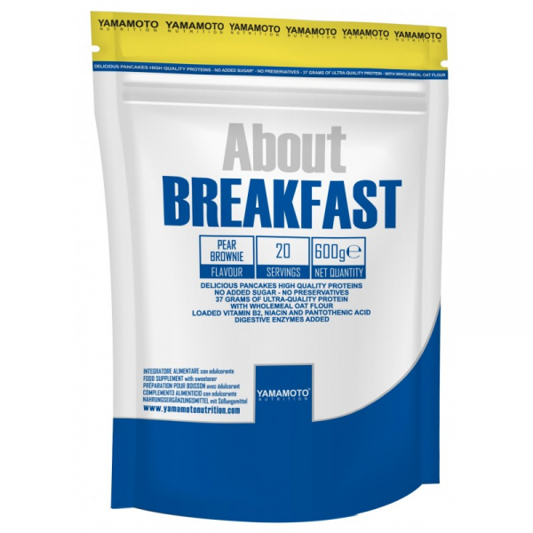 YAMAMOTO NUTRITION – About Breakfast 600g