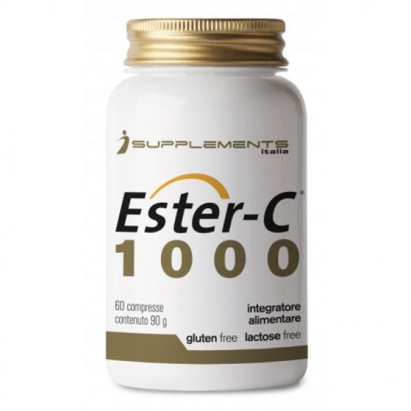 ISUPPLEMENTS ITALIA Ester-C 1000 60cpr Vitamina C Esterificata