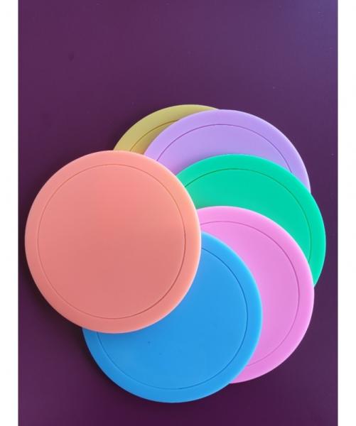 Target piccolo in silicone colorato