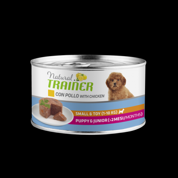 Natural Trainer Dog Small&Toy Puppy&Junior – Pollo 150g