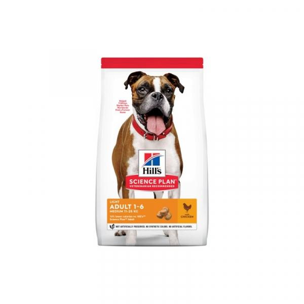 Hill's Dog Adult Medium Light – Pollo