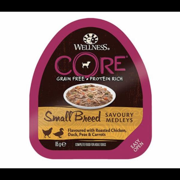 Wellness CORE Small Breed Medleys 85g