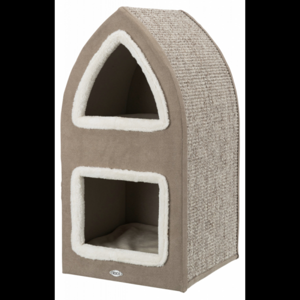 Trixie Cat Tower Marcy – Crema/Marrone