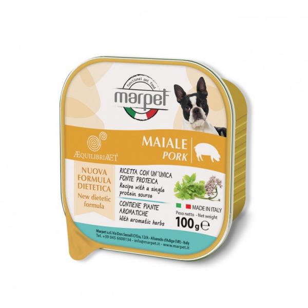 Marpet Æquilibiavet Dog Monoproteico Maiale 100g