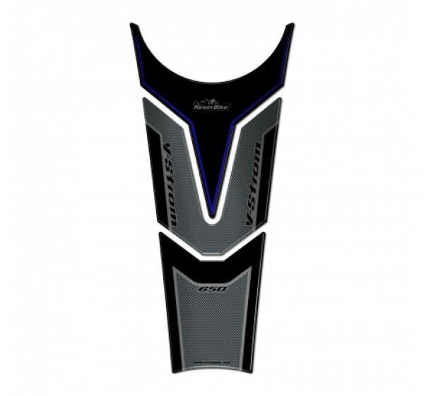 PARASERBATOIO ADESIVO 3D COMPATIBILE SUZUKI V-STROM 650 XT ABS 2020-2021 BLU