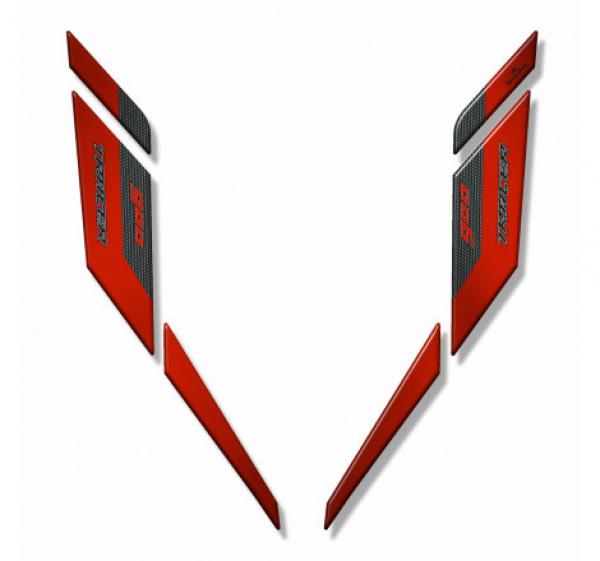 ADESIVO 3D PER FRONTALINO COMPATIBILE CON YAMAHA TRACER 900GT 2018-2020 RED