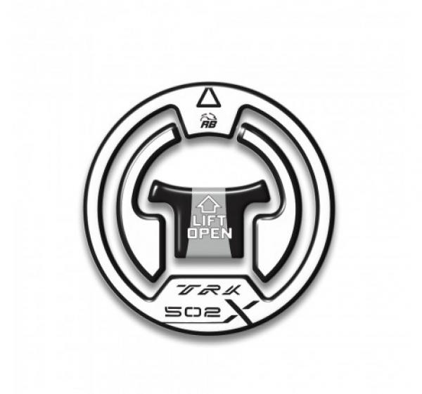 ADESIVO 3D PROTEZIONE TAPPO COMPATIBILE CON BENELLI TRK 502X – BIANCO