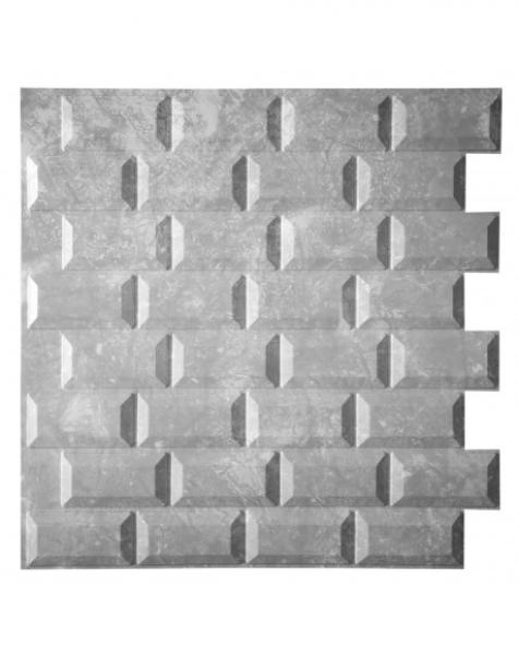 FROST – Pannello per parete in PVC a rilievo 3D – 59,5cmX56cm