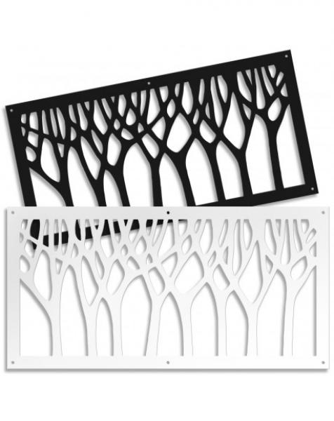 BOSCO – Pannello in PVC traforato – Parasole