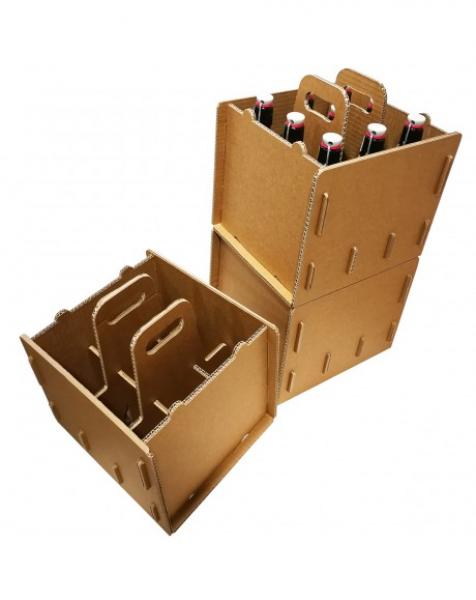 Cassettine in cartone per 09 bottiglie – 23cm X28cm xH30cm