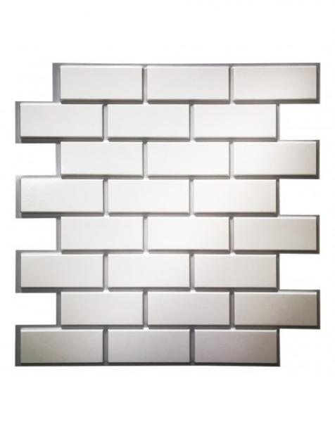 FACTORY – Pannello per parete in PVC a rilievo 3D – 60cmX60cm
